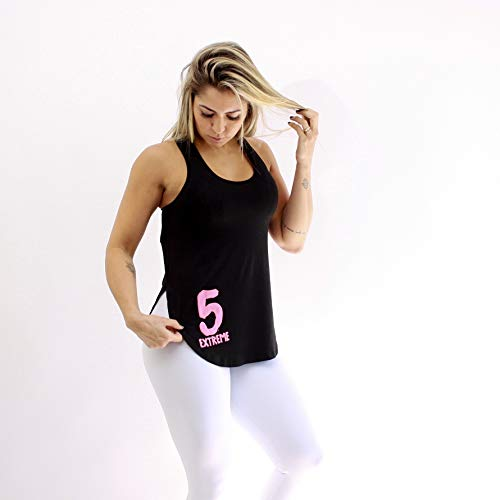 Regata Extreme Ladies Numbers - Feminino - Preto - Único