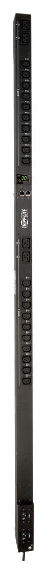 Tripp Lite PDU Switched 5/5.8kW 208/240V 20 C13 & 4 C19 30A LX Platform L6-30P Vertical 0URM Rack-Mount TAA (PDUMV30HVNETLX)