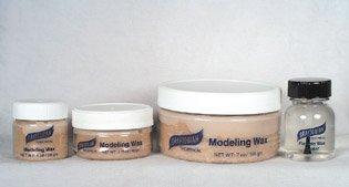 Modeling Wax   Bone Color   1 Oz. Jar by Graftobian
