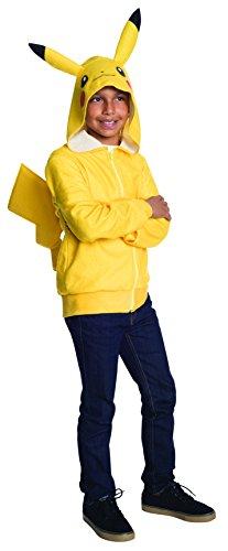 Rubie's Costume Pokemon Pikachu Tween Novelty Hoodie Costume, (Pokemon Costumes For Teens)