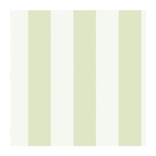 York Wallcoverings Disney Kids DK5993 Silk Stripe Wallpaper Green Cream