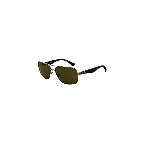 Ray-Ban RB3483 Sunglasses Gunmetal / Green Polarized 60mm & Cleaning Kit - Rb3483 Sunglasses