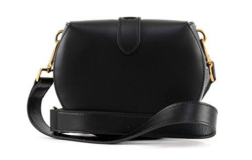 Coccinelle crossbody Minibag Calf leither black