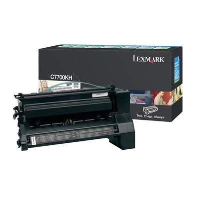 4COU Lexmark C7700KH C7700KH High-Yield Toner, 10000 Page-Yield, Black