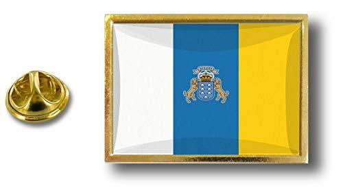 a Pin Akacha Bandera Espa Canario Mariposa Pins Badge Pin Con Metal Clip tOqgPa