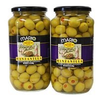 (Mario Manzanilla Spanish Olives - 2/21 oz. jars)