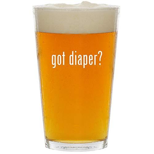 (got diaper? - Glass 16oz Beer Pint)