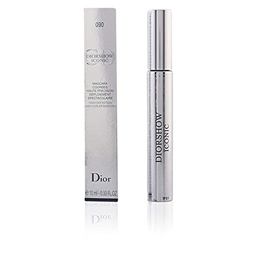 - Christian Dior Iconic High Definition Lash Curler Mascara, 090 Black, 0.33 Ounce