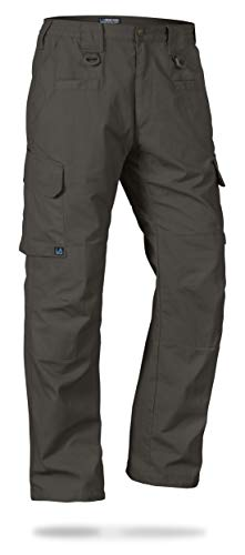 (LA Police Gear Men's Water Resistant Operator Tactical Pant with Elastic Waistband Sierra-38 x 36)