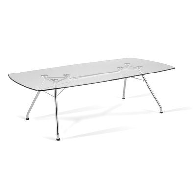 OFM GT4794 Glass Conference Table, 47' x 94'