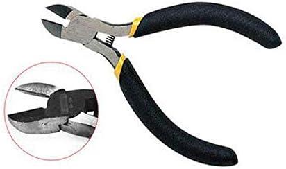 家の修理、すなわち屋外産業メンテナンスに適したプライヤーツール4インチブラックハンドルミニ斜めプライヤーセット