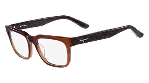 (Salvatore FERRAGAMO Rx Eyeglasses - SF2736 210 - BROWN (52-18-140))