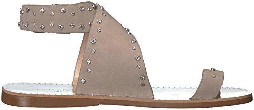 Lingerie Chinoise Jessa Sandale Plate En Pierre Nubuck