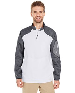 Holloway Sportswear Raider Pullover Windbreaker. 229155 Carbon Print / White L