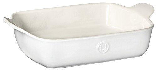 Emile Henry 239628 HR Ceramic Small rectangular baker, Sugar