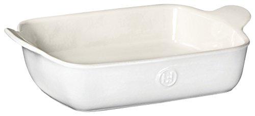 Small Baker Rectangular (Emile Henry 239628 HR Ceramic Small Rectangular Baker, Sugar)