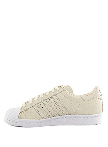 adidas Superstar 80s Woven Herren Sneaker Weiß Weiß