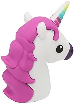DBigness 3350mAh Ligero Mini Unicornio Púrpura Lindo ...