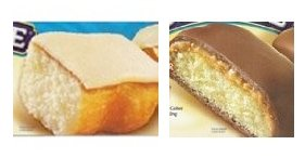 1 Box Each Tastykake Butterscotch Krimpets and Peanut Butter Candy Cakes Tastykakes Kandy Kakes by Tastykake