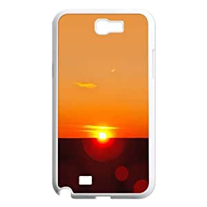 sunset Samsung Galaxy N2 7100 Cell Phone Case White as a gift E4502783