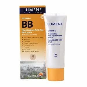 lumene finland illuminating anti age bb cream 01 light facial moisturizers beauty. Black Bedroom Furniture Sets. Home Design Ideas