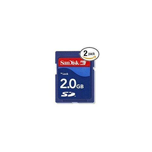 Amazon.com: SanDisk 2 GB SD Flash Memory Card 2-Pack SDSDB2-2048-A11: Electronics