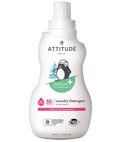 Attitude Little Ones Fragrance Free Laundry Detergent 35.5 Fluid Ounce ()