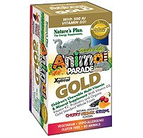 Animal Parade GOLD Children's 120 Chewable Multi Assorted Flavors