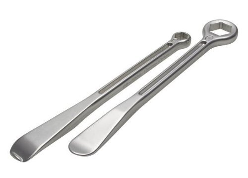 Motion Pro 08-0541 27mm and 12/13mm T-6 Combination Tire Lever/Wrench Set