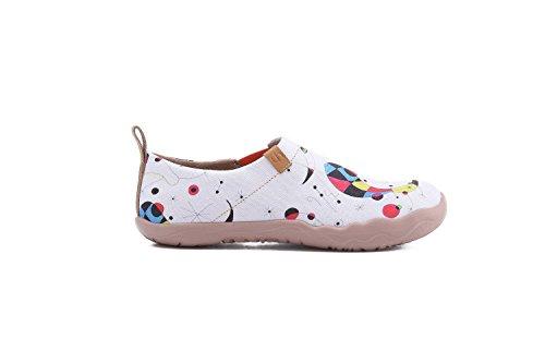 Blanc Femmes Fishes UIN de voyage Chaussures Fashion YgTCdwq