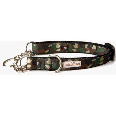 """Camo Martingale Dog Collar Size: 1"""" Large"""