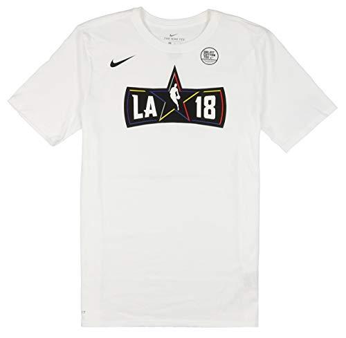 Nike Men's NBA All Star Weekend Logo T-Shirt Large White