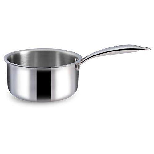 Amul Tri Ply Cookware Sauce Pan 16 CM  Non Induction