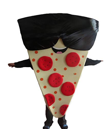 Adult Size Pizza Mascot Costume Advertising Mascots Custom Mascot Costumes ArisMascots