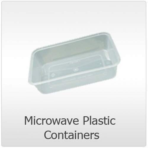 50 x apta para microondas de plástico apto para alimentos ...