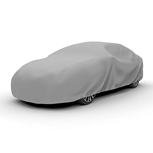 - Budge Duro Car Cover Fits Sedans up to 264 inches, D-5 - (Polypropylene, Gray)