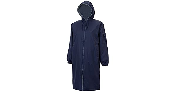 Amazon.com : Adoretex Faux Fur Lining Swim Parka - Navy - Youth ...