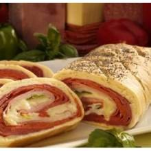 Stefano Italian Pepperoni and Cheese Stuffed Bread, 15 Ounce -- 12 per case. by Stefano Foods