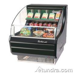 Turbo Tom-30LB Open Front Display Merchandiser, Refrigerated, Low-Profile, Horiz by Turbo Air
