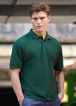 Fruit Of The Loom 65/35 Piqué Poloshirt S,Bottle Green