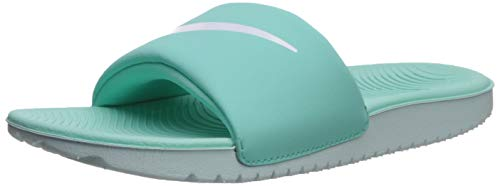 Nike Boys Kawa Slide (GS/PS) Sandal, Tropical Twist/White - Teal Tint, 7Y Regular US Little - Kids Twist
