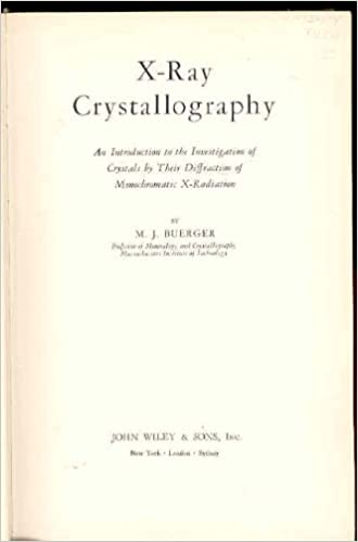 X-ray crystallography: An introduction to the investigation of ...