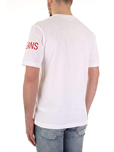 Blanc Homme T Calvin Institucional Klein shirt 0UAZaI