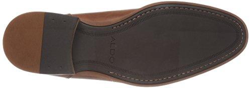 Aldo Men's Colza Monk Strap Flat, Cognac, 9 D US