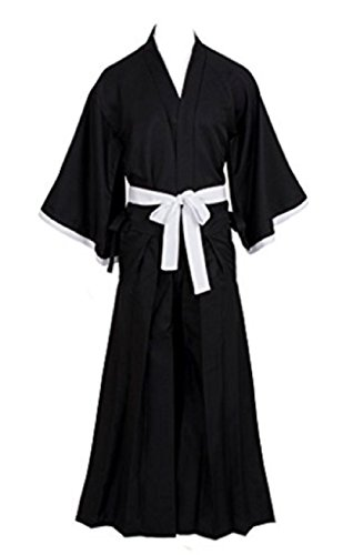 Fuji Halloween Bleach Kuchiki Rukia Cosplay Costumes (S) (Best Cosplay Costume Shop)