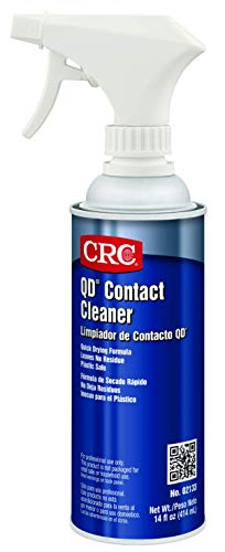 CRC QD Plastic Safe Liquid Contact Cleaner, 15 fl oz Non-Aerosol Spray Can, Clear