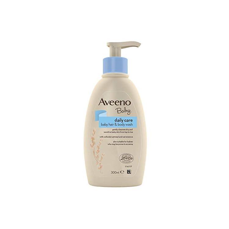 Aveeno Baby Daily Care Hair & Body Wash, 300 ml (Packaging May Vary) [Packaging May Vary]