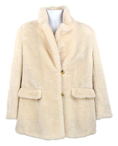 J Crew Women's Yuna Teddy Faux Fur Coat Jacket Button for sale  Delivered anywhere in USA