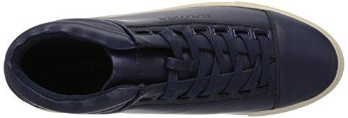 Nautica Mens Balen Sneaker True Navy Liscia
