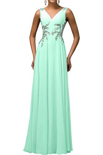 Missdressy - Vestido - para mujer verde menta